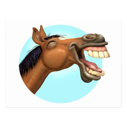 Horselaugh Postcard