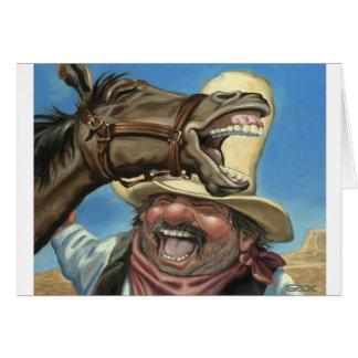 Horselaugh Tarjeta De Felicitación