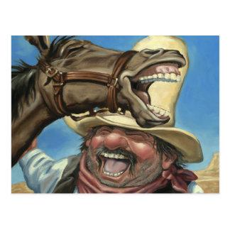Horselaugh Tarjetas Postales