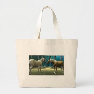 horselov large tote bag