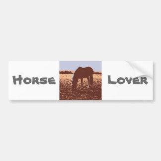 HorseLover Pop Art Car Bumper Sticker