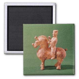 Horseman 2 Inch Square Magnet