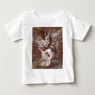 Horseman Attacked By A Giant Snake Baby T-Shirt