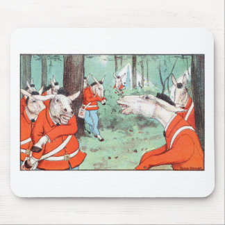 Horseman Chewing Gum Mouse Pad