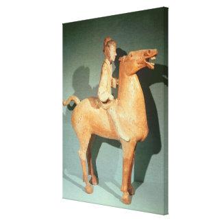 Horseman, from Xianyang, Shaanxi Canvas Print