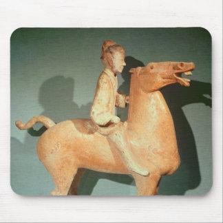 Horseman, from Xianyang, Shaanxi Mouse Pad
