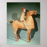 Horseman, from Xianyang, Shaanxi Posters