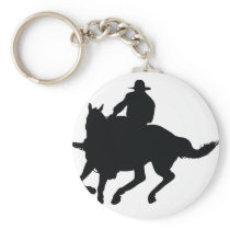 Horseman Keychain