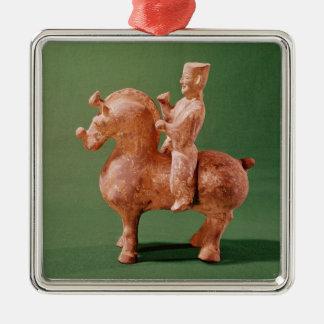 Horseman Metal Ornament