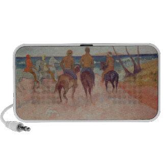 Horseman on the Beach  1902 iPhone Speaker
