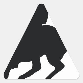 Horseman Triangle Sticker