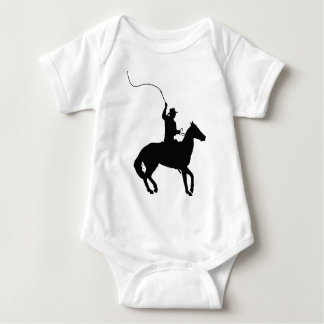 Horseman with Whip Baby Bodysuit