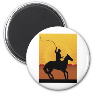 Horseman With Whip Magnets