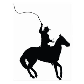 Horseman with Whip Postcard