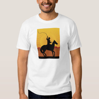Horseman With Whip T-shirts