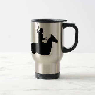 Horseman with Whip Travel Mug