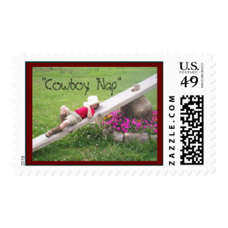 """Horseman's Nap"" Postage Stamp"