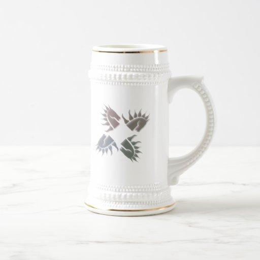 Horsemen Beer Stein Coffee Mug