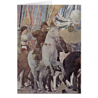 Horsemen By Piero Della Francesca Cards