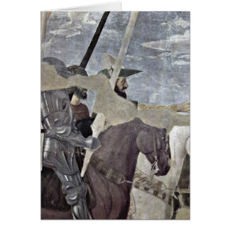 Horsemen By Piero Della Francesca Card
