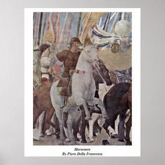 Horsemen By Piero Della Francesca Posters