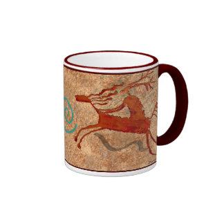 Horsemen-Caballistas Ringer Coffee Mug