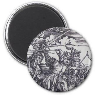 Horsemen of the Apocalypse 2 Inch Round Magnet