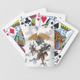 Horsemen Playing Cards