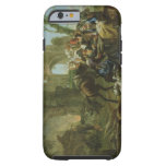 Horsemen Resting among Classical Ruins with a Fort Tough iPhone 6 Case