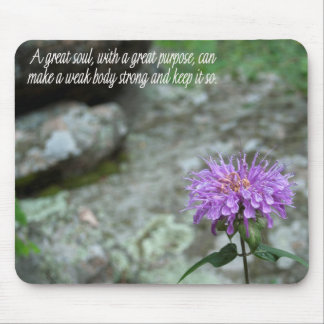 Horsemint and Mossrock Mouse Pad