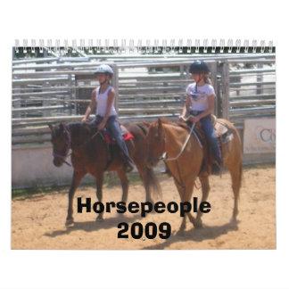 Horsepeople Calendar