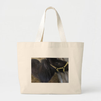 HorsePhoto Large Tote Bag