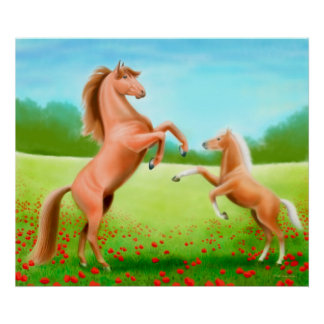 Horseplay Poster Print