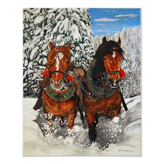 Horseplay Print