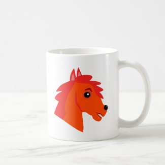 Horsepower coffee mug