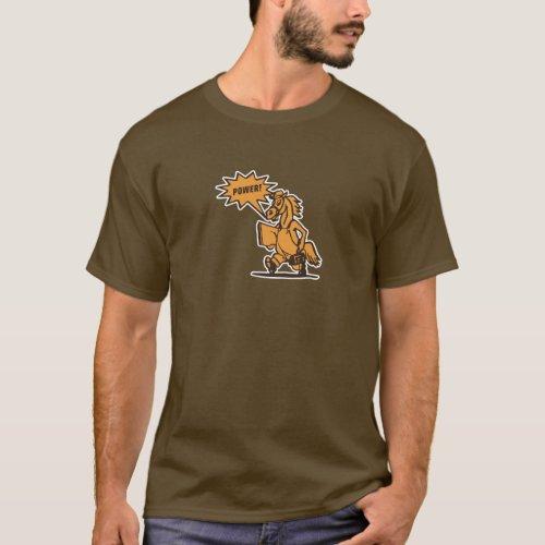 Horsepower t_shirt for Granger buyers dark vers