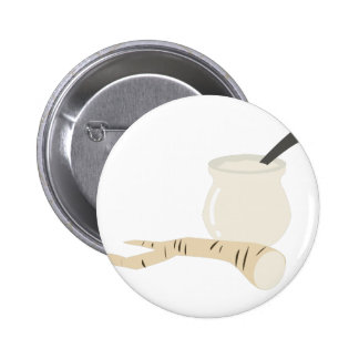 Horseradish Pinback Button