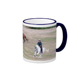 Horserider's mug