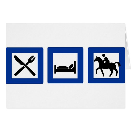 horseriding cards