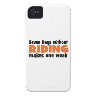 horseriding iPhone 4 cover