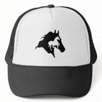 horseriding trucker hat
