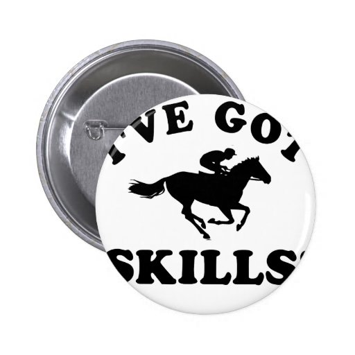 horseriding vector designs 2 inch round button
