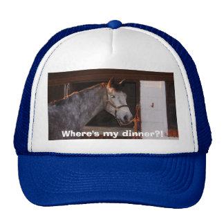 horses 006, Where's my dinner?! Trucker Hat