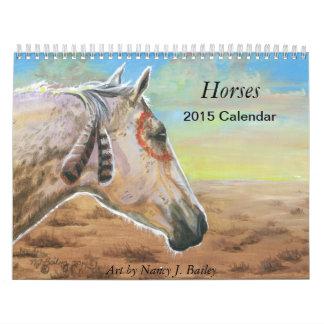 Horses - 2015 Calendar