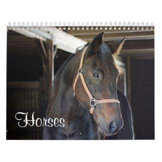 Horses 2017 calendar