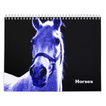 Horses 2020 calendar