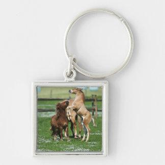 Horses 3 keychain
