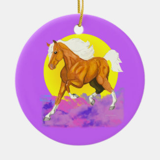 Horses - a touch of Heaven on Earth ornament
