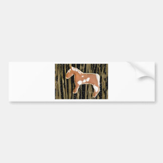 Horses Abound by jjhélène Bumper Sticker