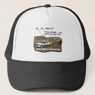 Horses - Accounting - Wild horse round-up Trucker Hat